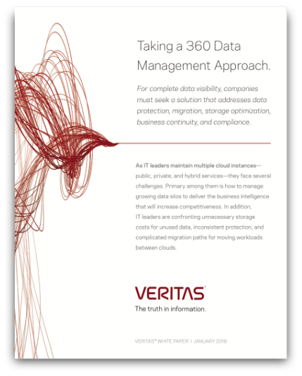Taking a 360 Data Management Approach.