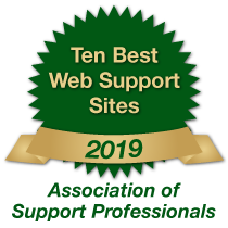 Veritas Support Named One Of 10 Best Support Websites